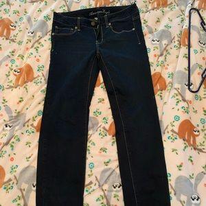 American Eagle Straight Skinny Jeans